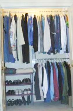 Quick Closet Storage